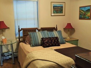 Bedroom two, queen size bed