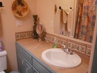 Bathroom two, shower/tub