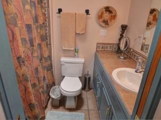 Bathroom 2, off bedroom 2