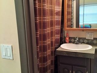 Bathroom 1 located off Bedroom 1