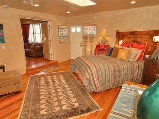 Master bedroom, off of den, separate entrance