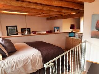 Bedroom loft, queen size bed