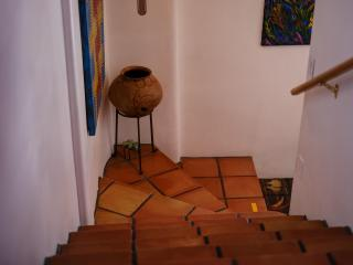 Stairs with Saltillo Tiles