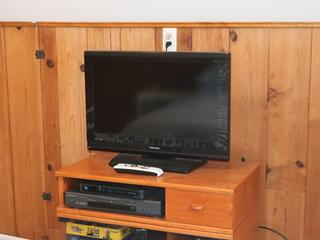 Upstairs TV & DVD Player
