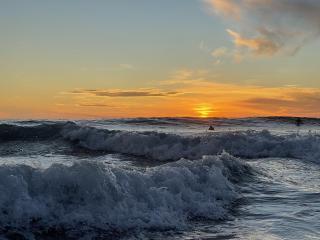 Sunset at Cerritos Beach