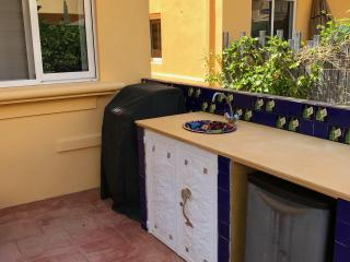 Grill and outdoor sink